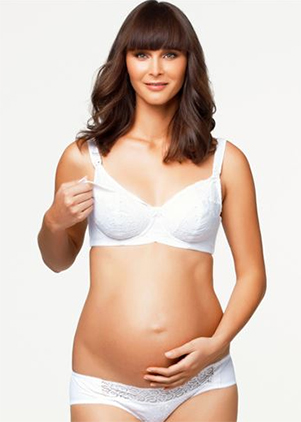 Cake White Chocolate Maternity Bra